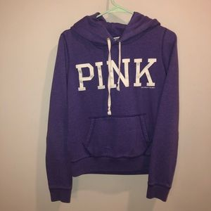 Victoria's Secret Pink Hoodie Pullover Purple